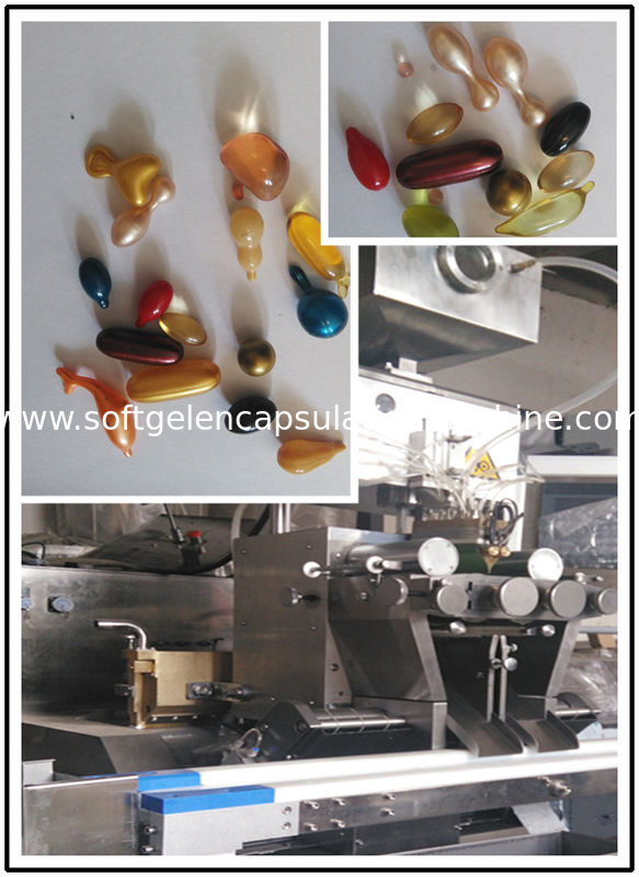 Low Noise Pharmaceutical Machinery Softgel Encapsulation Manufacturing Line for oil capsule