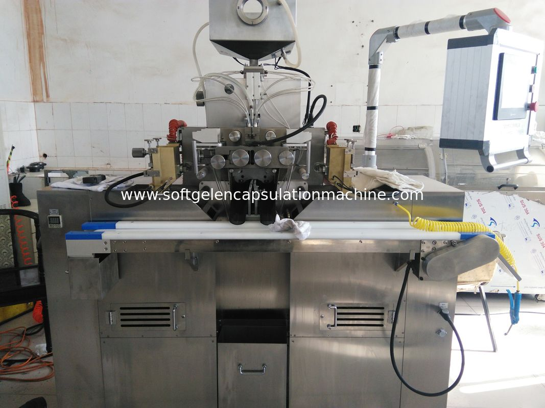 Vegetable Gelatin Softgel Capsule Manufacturing Machine S610V Automatic Control