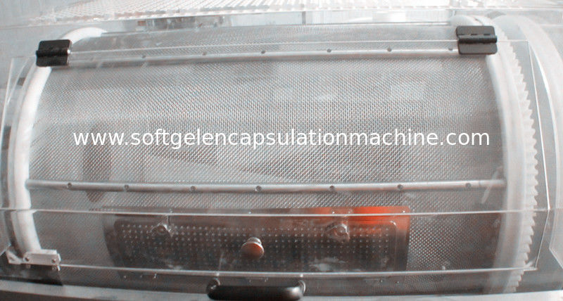 Variable Speed Regulation Capsule / Paintball Tumble Drying Automatic Encapsulation Machine