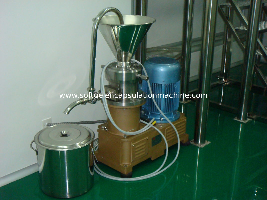 Colloid Mill for Liquid Materials Pharmaceutical / Food / Cosmetic Industries