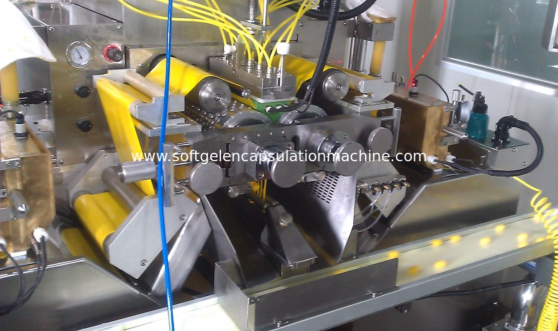 Large Scale Soft Capsule Making Machine , Softgel Manufacturing Machine