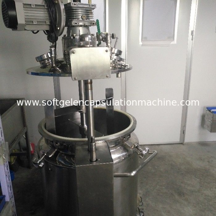 100L Vegan Gelatin Stainless Steel Tank With Stirring Function And Vacuum Pump