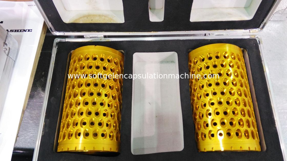 Softgel Die Roll 10 inch Large Capsule Mold For Making OB / OV Shape With CE